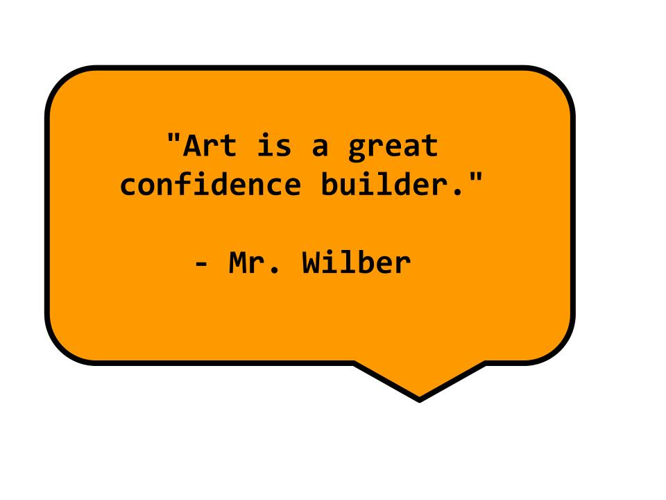 Mr. Wilber says —