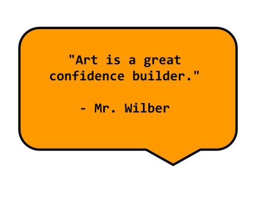 Mr. Wilber says --