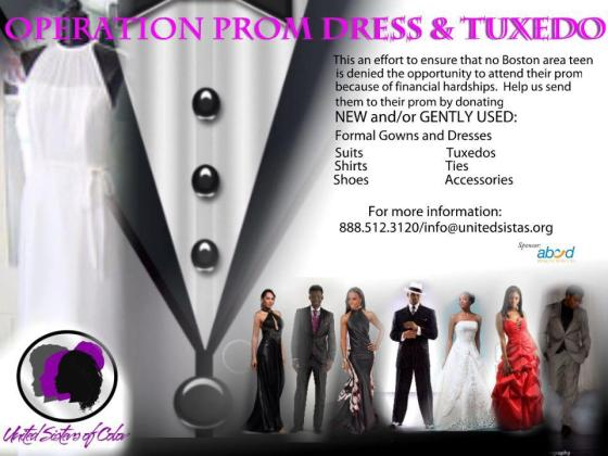 Operation Prom Dress & Tuxedo