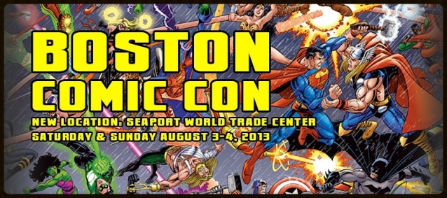 Boston Comic Con is back on!