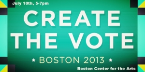 Creat the Vote Boston 2013