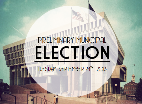 An election day inBoston!