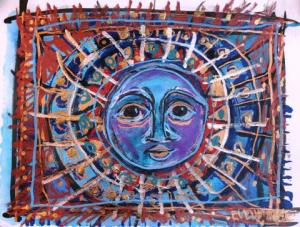 """Sol"" by Evelyn Berde."